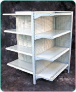4-Way Gondola Shelving